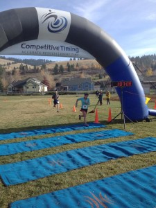 Missoula Elk Ramble 15k Top Female Finisher Cynthia Arnold.
